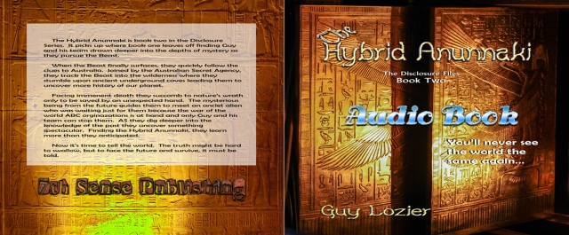 The Hybrid Anunnaki Audio Book Cover new with bookmark - 4
